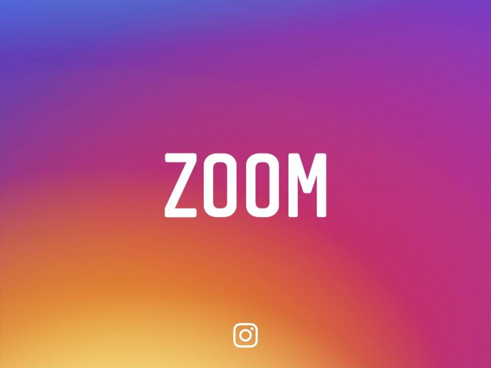 instagram zoom yapma