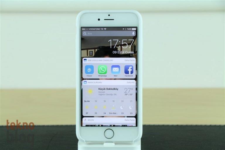 iOS 10 İncelemesi