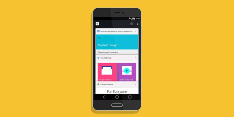 chrome canary android