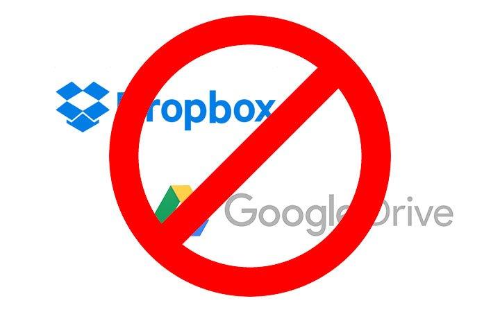 dropbox google drive