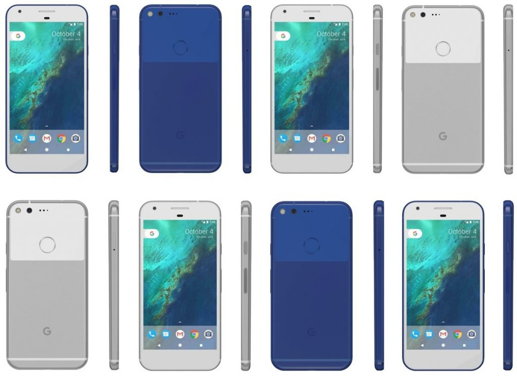 google pixel mavi
