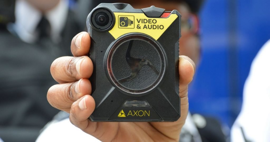 londra polisi vucut kamerasi