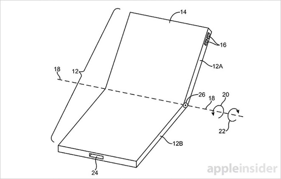 apple patent katlanan telefon