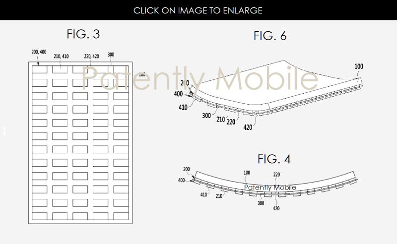 samsung esnek ekran patenti