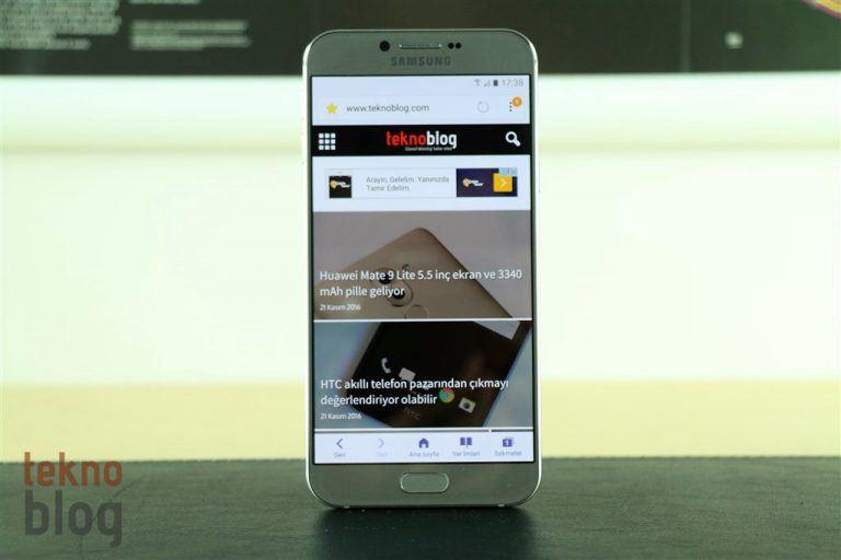 Samsung Galaxy A8 (2016) İncelemesi