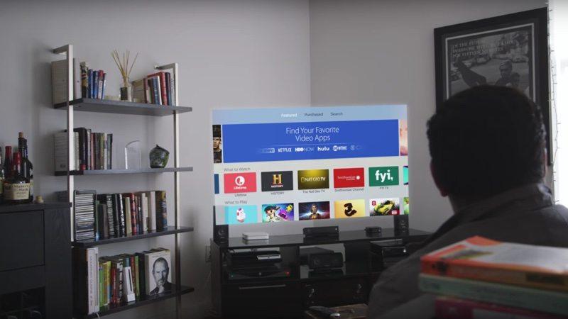 apple tv uygulamalari tek giris sistemi
