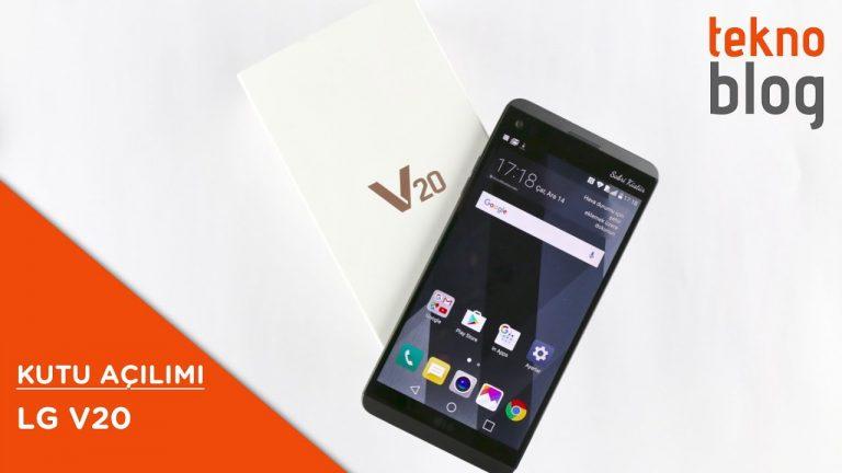 Video: LG V20 Kutusundan Çıkıyor