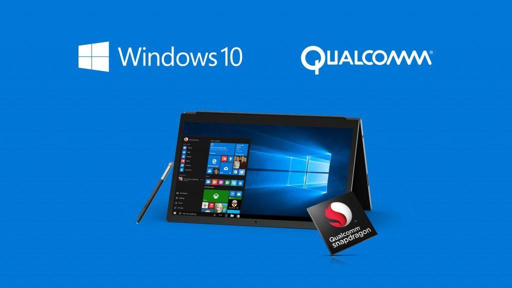 qualcomm snapdragon windows 10
