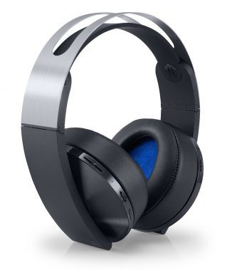 sony ps4 platinum wireless