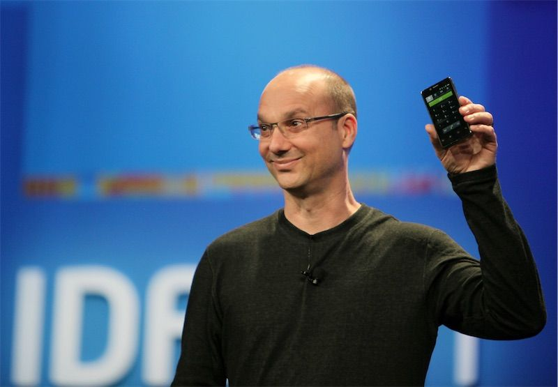 softbank andy rubin