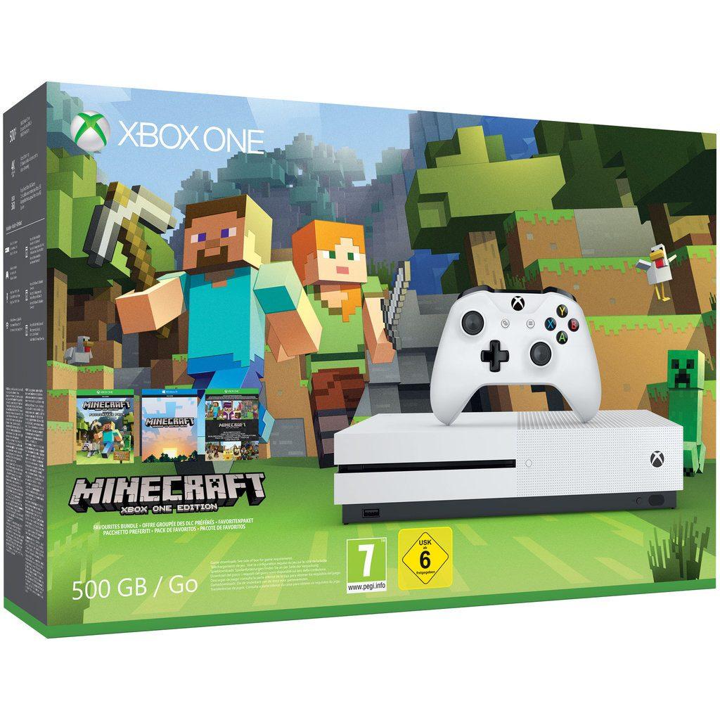xbox one s minecraft