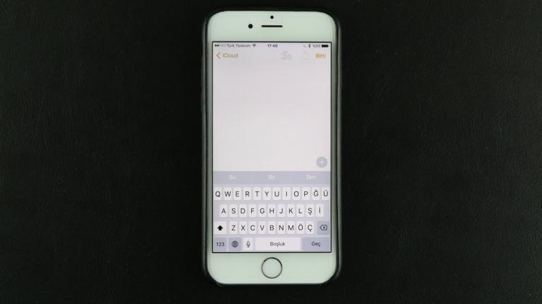 Nasıl Yapılır: iPhone'da yeni klavye ekleme