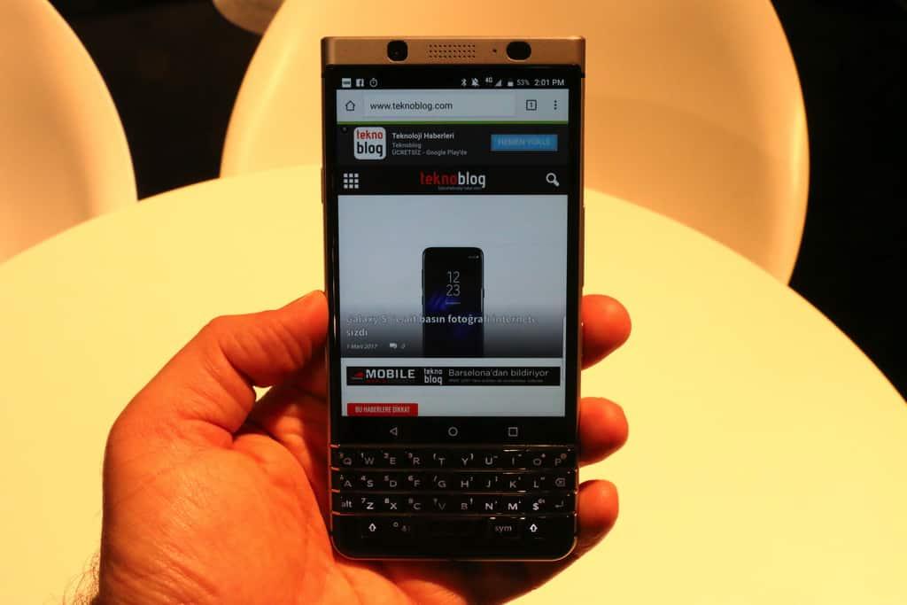 blackberry keyone türkiye