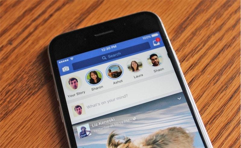 facebook snapchat hikaye
