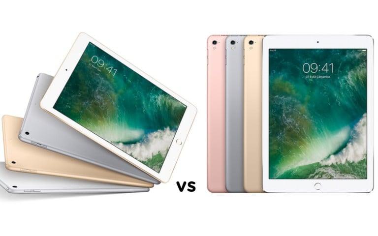 9.7 inç iPad ve iPad Pro 9.7 karşı karşıya: Hangisi daha avantajlı?