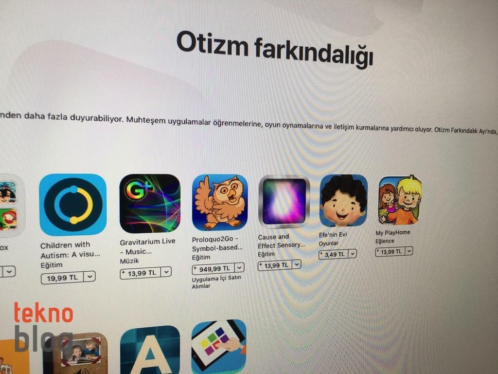 app store otizm