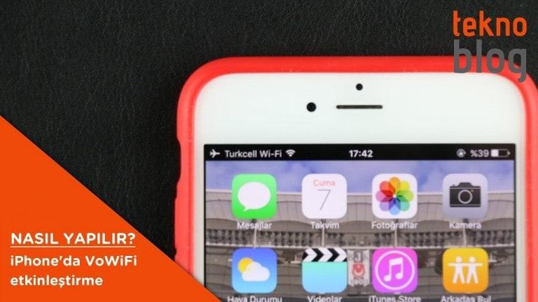 Nasıl Yapılır: iPhone'da VoWiFi özelliğini etkinleştirme