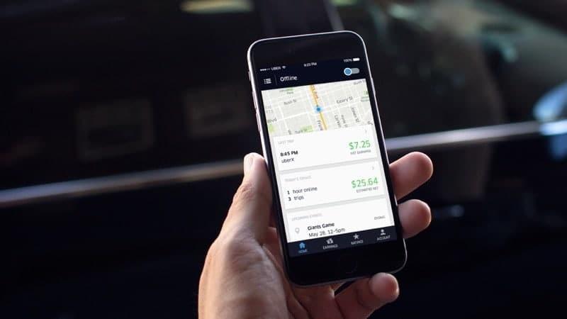 softbank uber