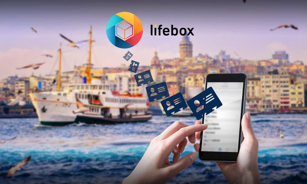lifebox telefon rehberi yedekleme