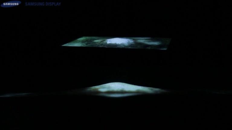 Samsung'un 9.1 inçlik esnek OLED ekran prototipinin gerilmesini izleyin – Video
