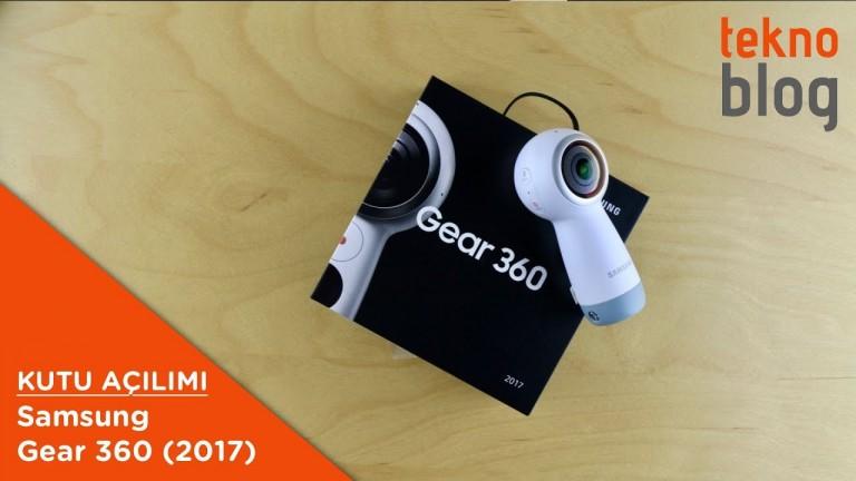 Video: Samsung Gear 360 (2017) Kutusundan Çıkıyor