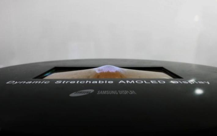 samsung esnek ekran