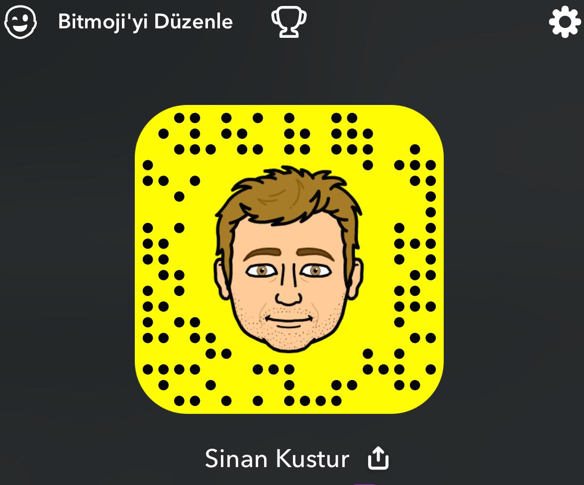 snapchat snapcode bitmoji