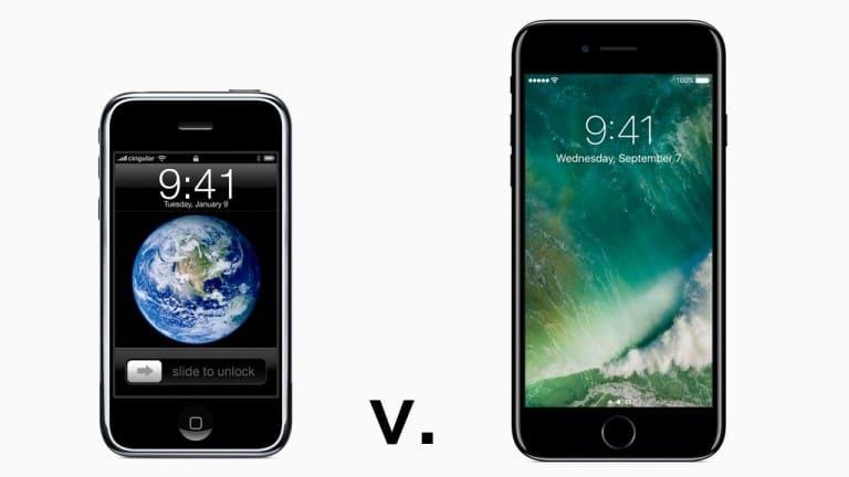 İlk iPhone ile iPhone 7 karşı karşıya: 10 yılda neler değişti?