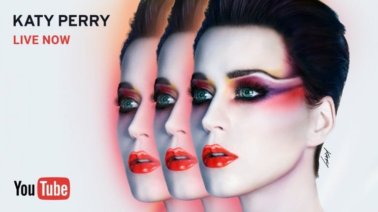 Katy Perry albüm tanıtımı için Biri Bizi Gözetliyor tarzını deniyor