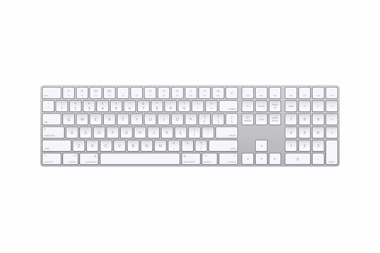 sayısal tuş takımlı magic keyboard