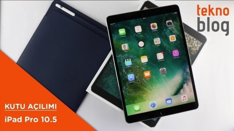 Video: iPad Pro 10.5 inç Kutusundan Çıkıyor