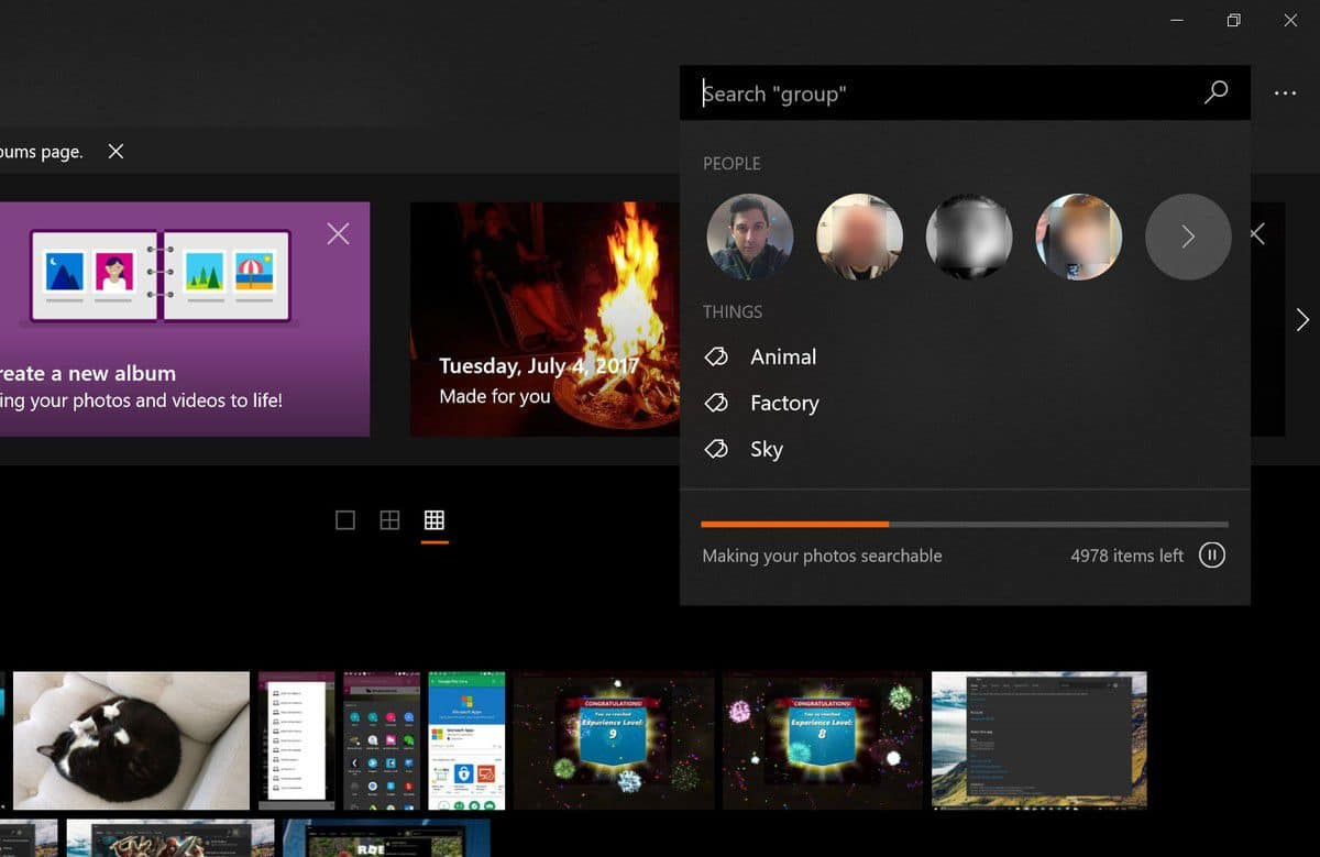 windows 10 fotoğraflar