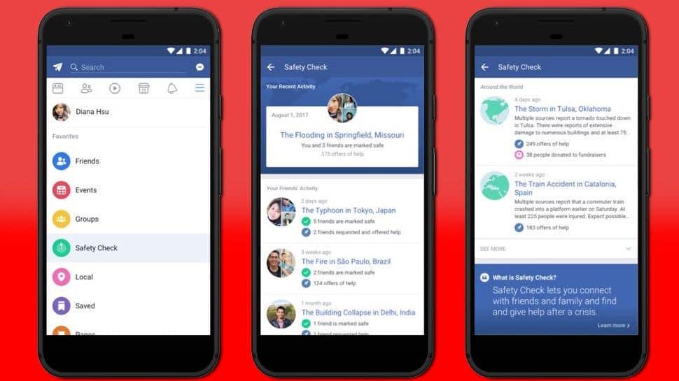 facebook guvenlik durumu kontrolu