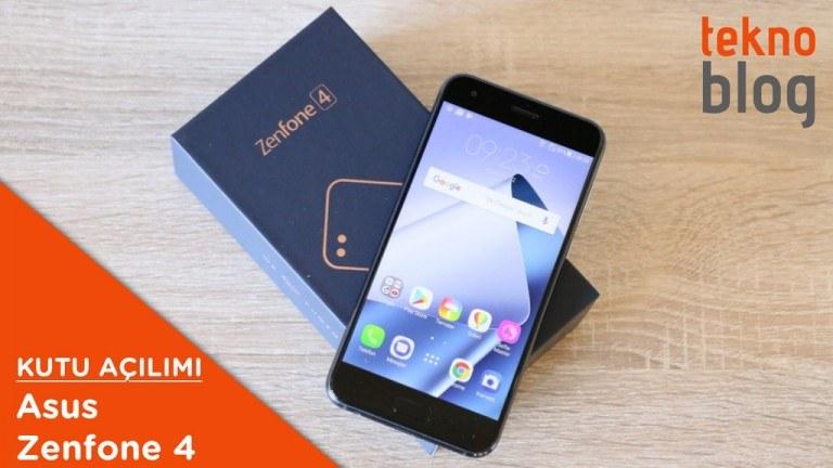 Video: Asus ZenFone 4 Kutusundan Çıkıyor