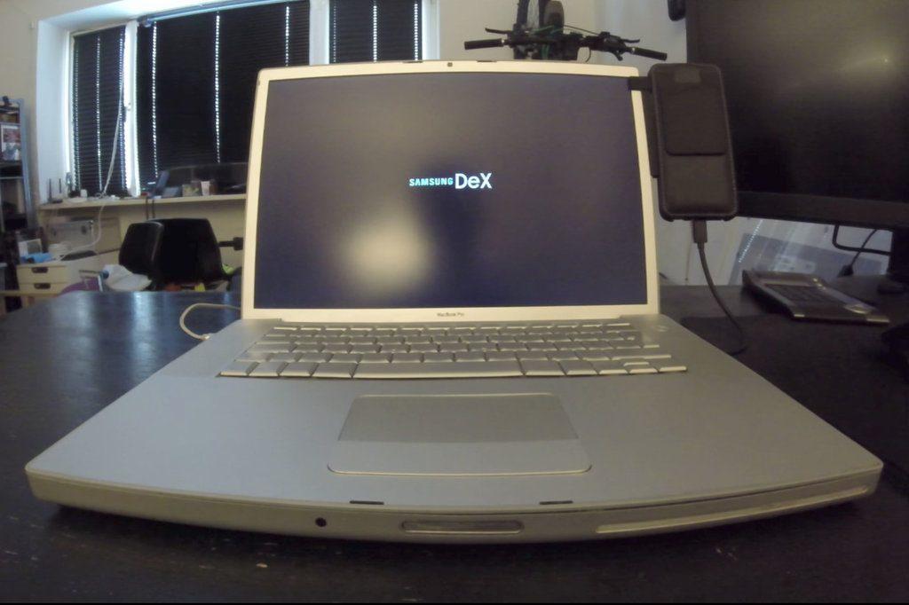 samsung dex macbook pro