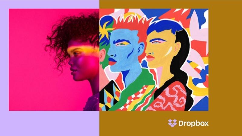 dropbox yeni logo