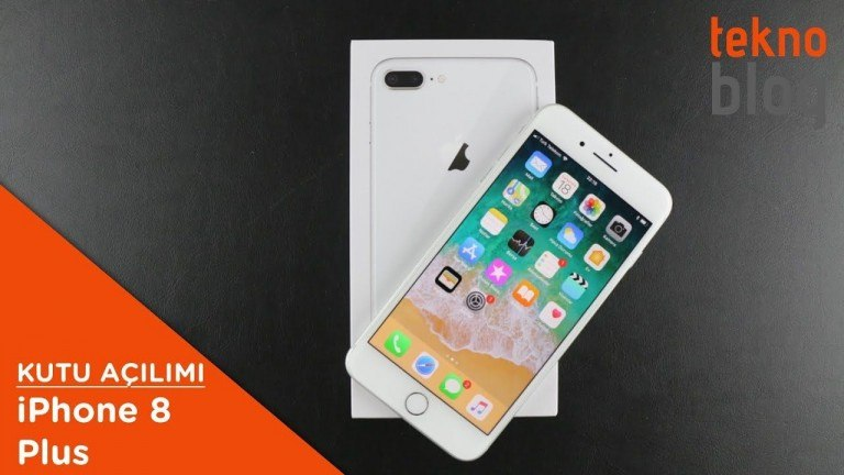 Video: iPhone 8 Plus Kutusundan Çıkıyor