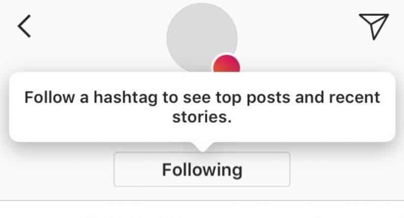 instagram etiket
