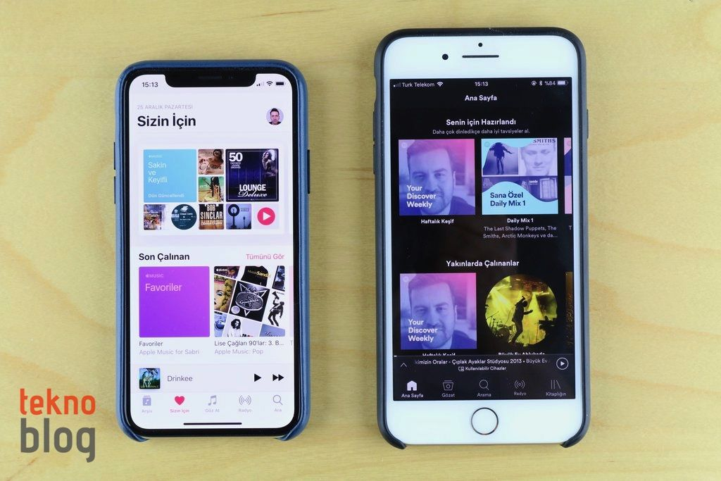 apple music ve spotify