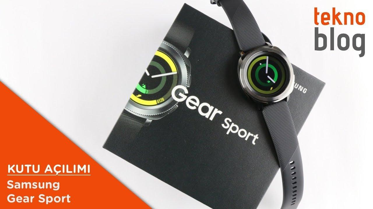 Video: Samsung Gear Sport Kutusundan Çıkıyor