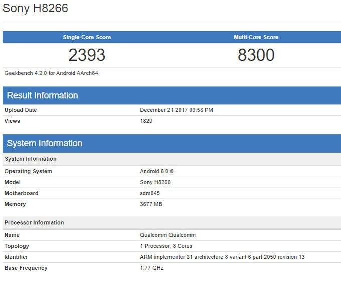 sony h8266