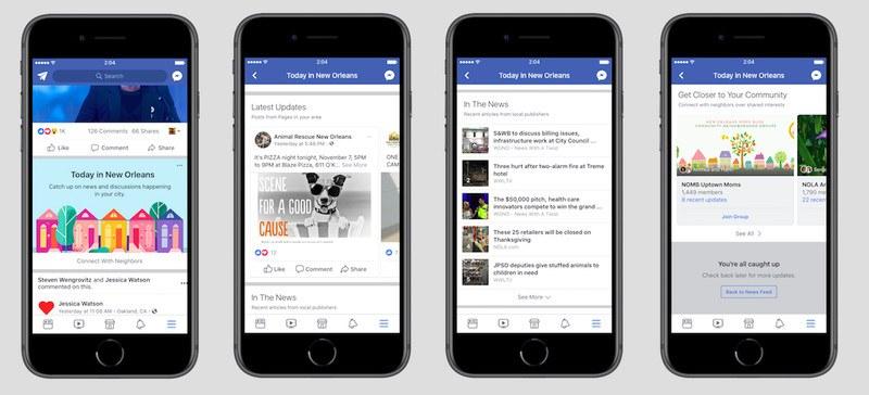 facebook yerel haber