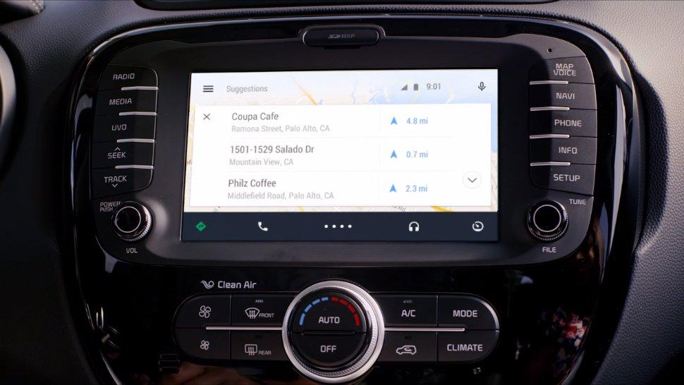 android auto kablosuz
