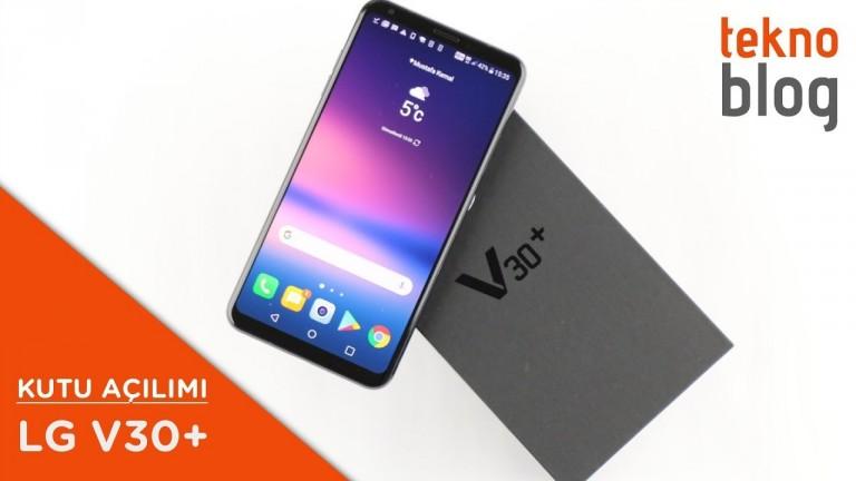 Video: LG V30+ Kutusundan Çıkıyor (Ön İnceleme)