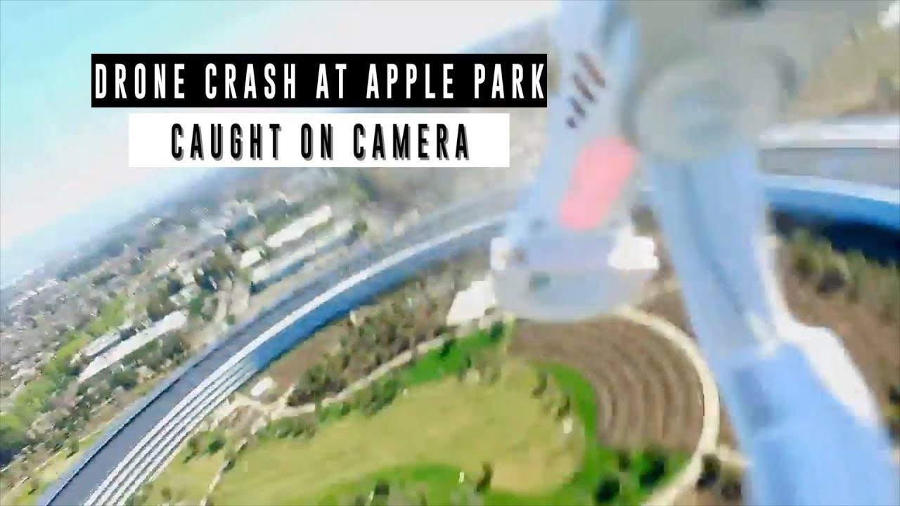 apple park drone