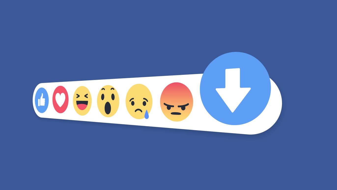 facebook yorum karşı oy