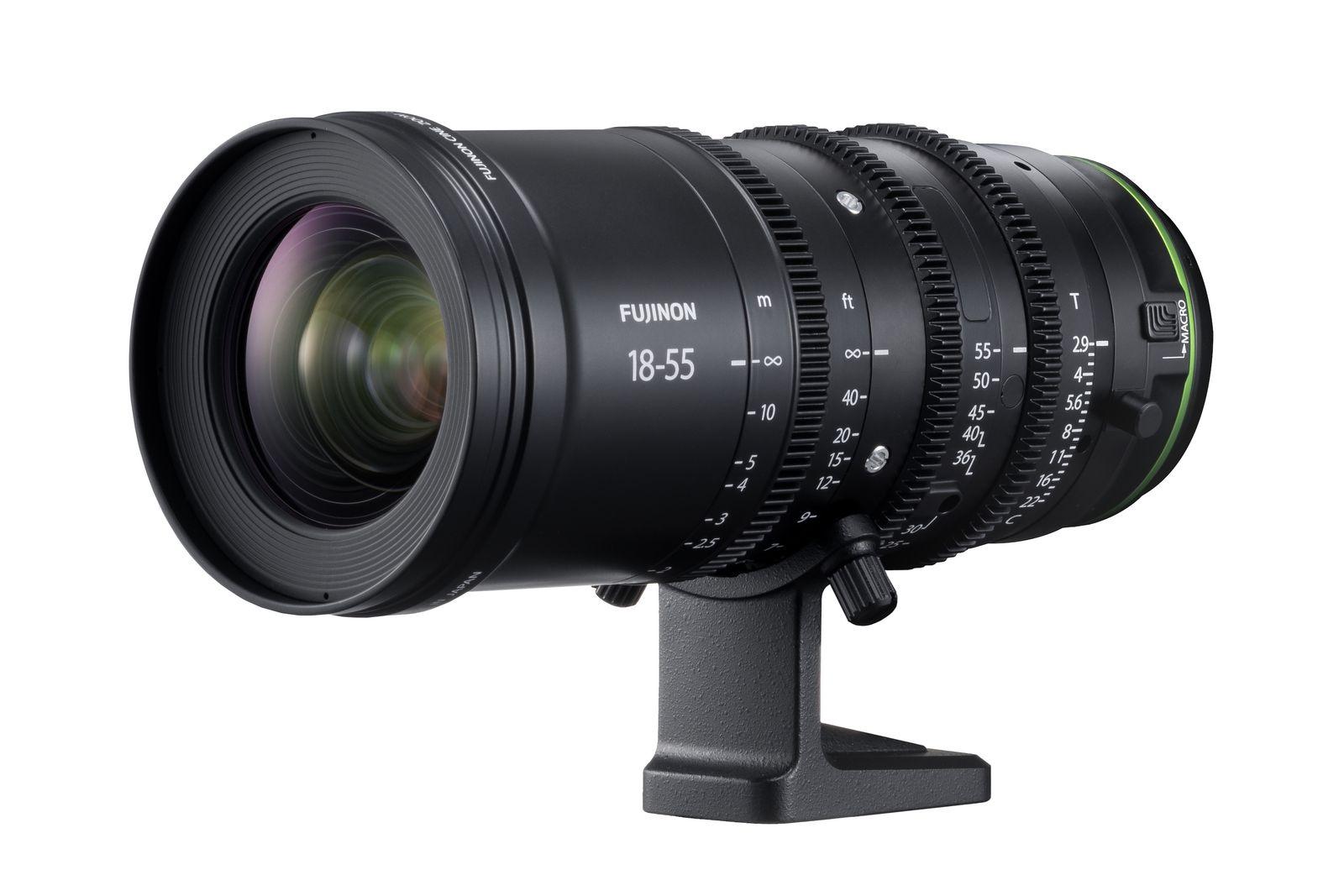 Fujinon MKX 18-55 f/2.9