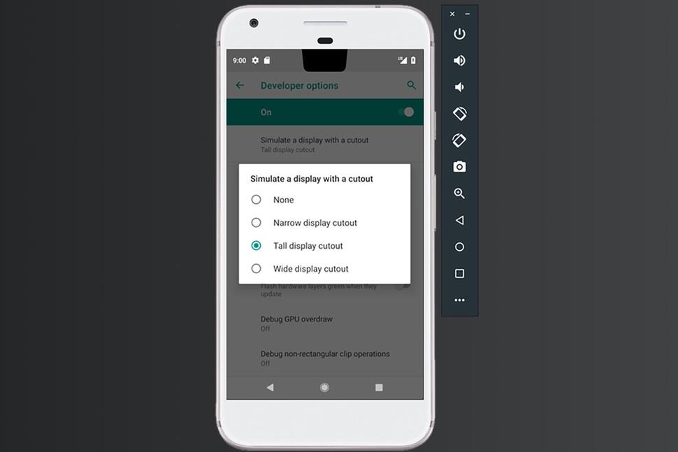 android p ekran centik