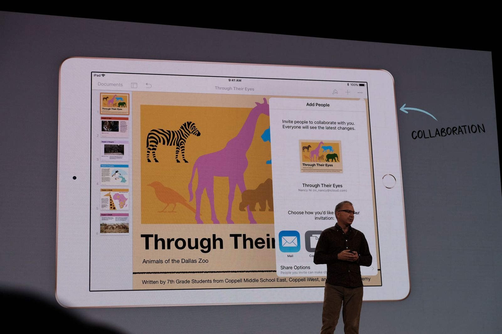apple pages digital books
