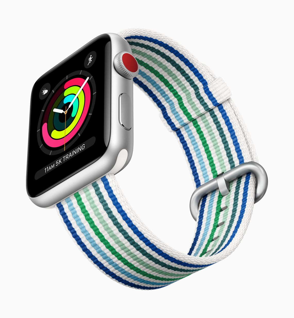 apple watch series 3 spring naylon örme